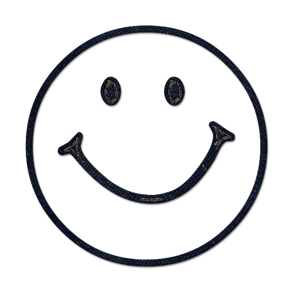 White Smiley Face Png image #42664