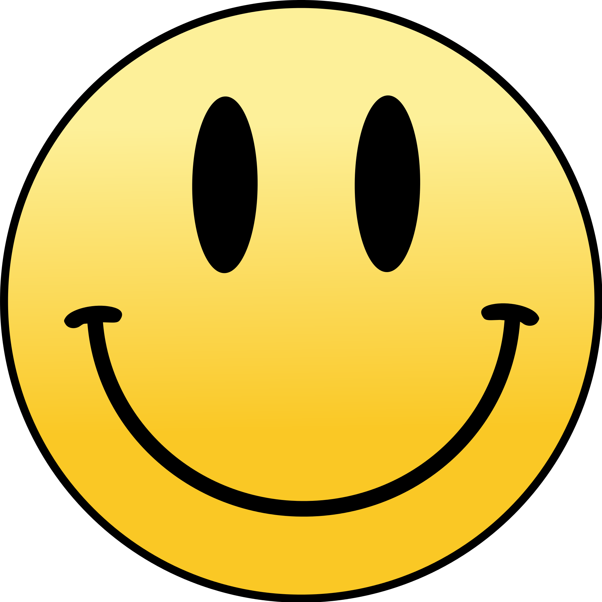 White Smiley Face Png image #42649