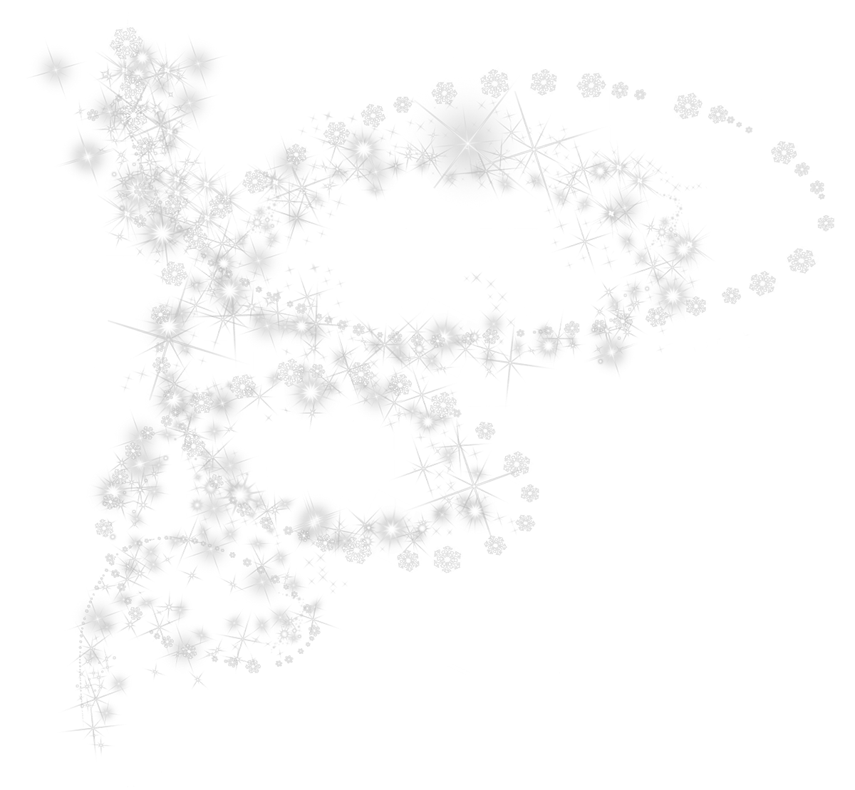 White Snowflakes Pic Png image #41275