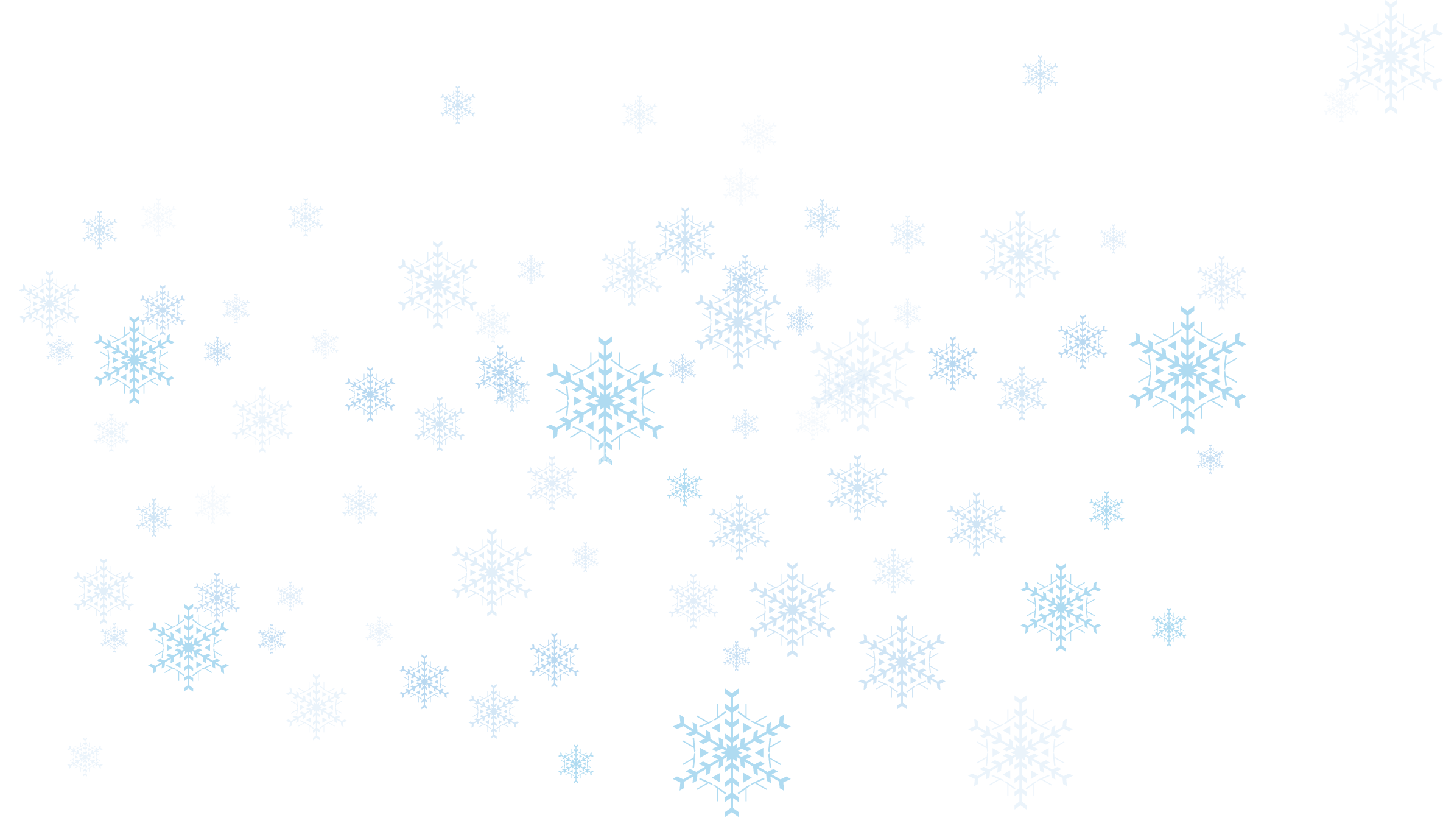 White Snowflakes Png image #41266