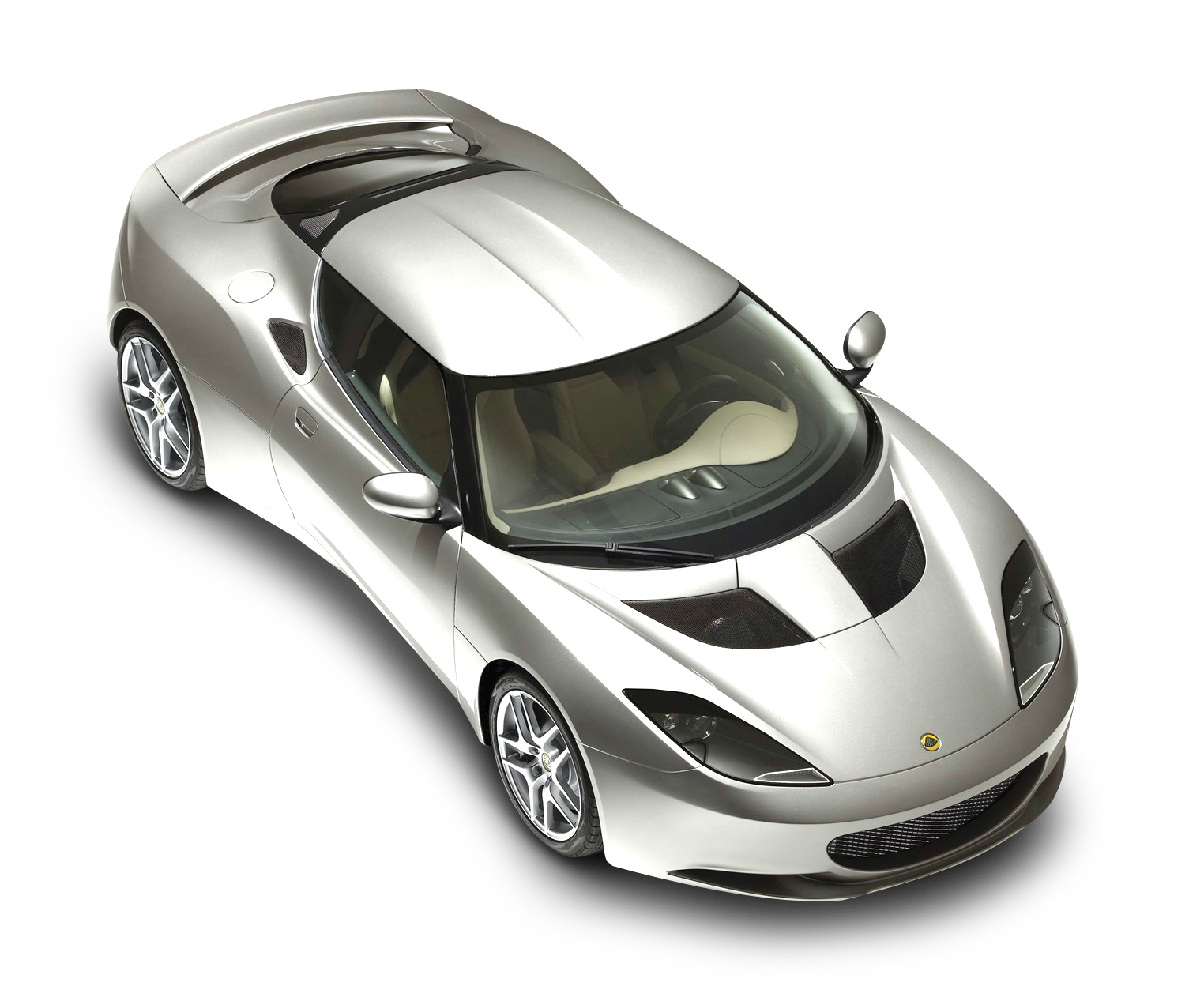 White Sport Car Lotus Top png ?