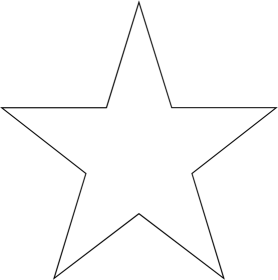 Transparent White Star Icon image #13227