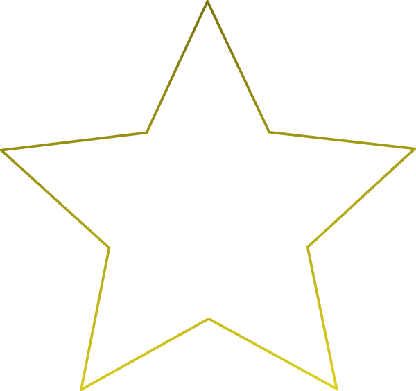 Transparent Png White Star image #13232