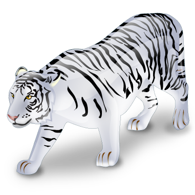 White Tiger 3d download 3d animal PNG images