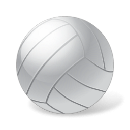 White Volleyball Png image #3272