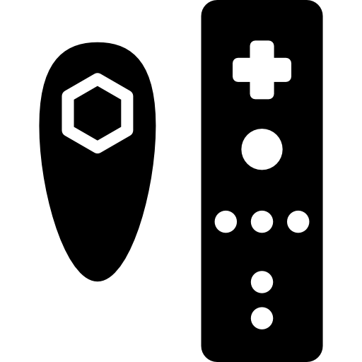 Wii, Controller, Remote Icon image #36690