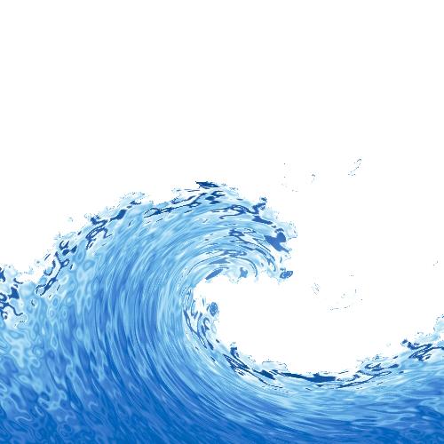 Wind Wave Transparent Background