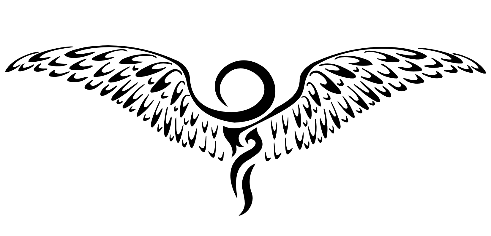 Winged Tattoos Png image #19379
