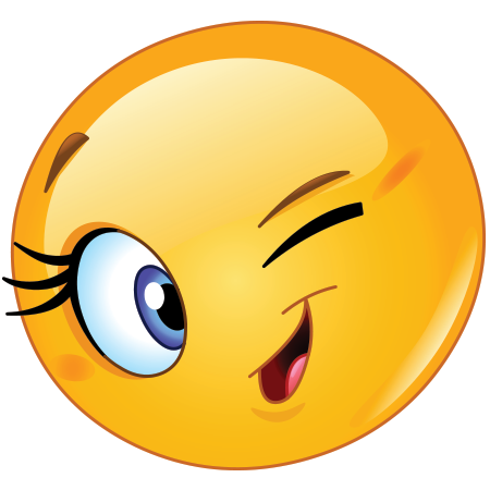 Winking Smiley Simple Png
