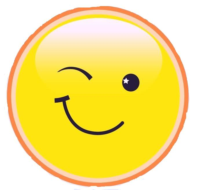 Winking Smiley Png Transparent image #14743