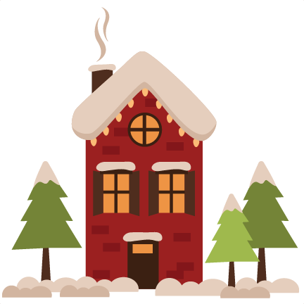winter house png clipart