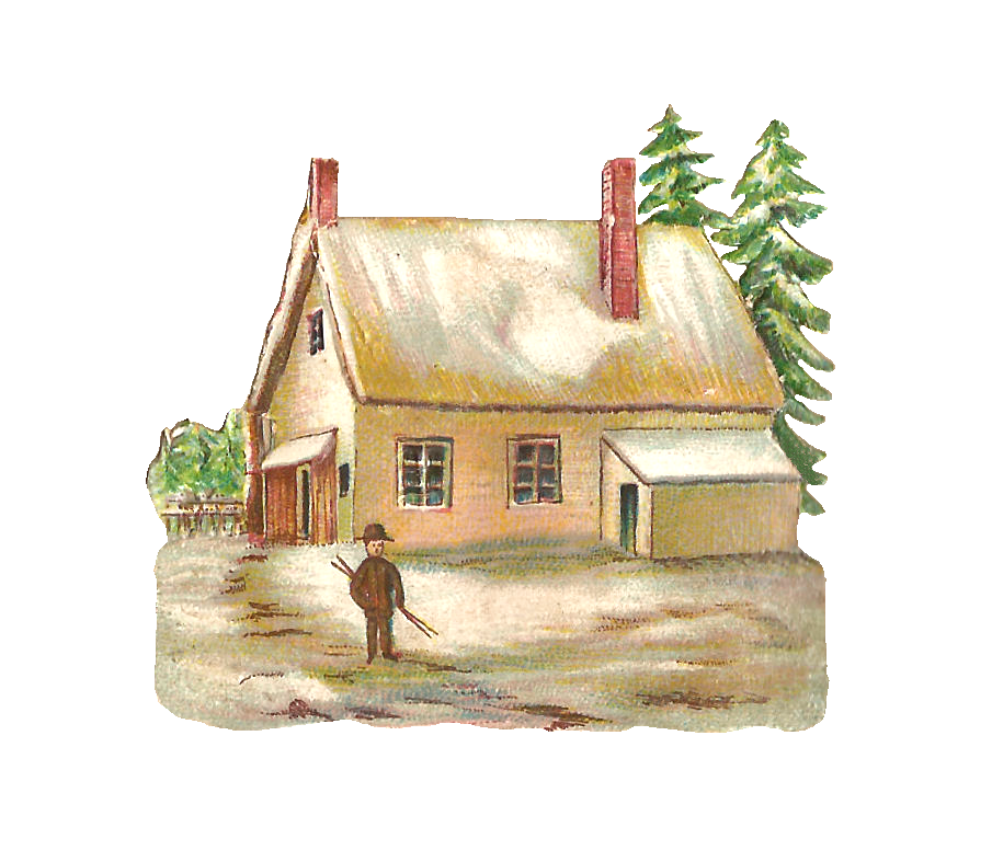 Winter House Png Picture image #31444