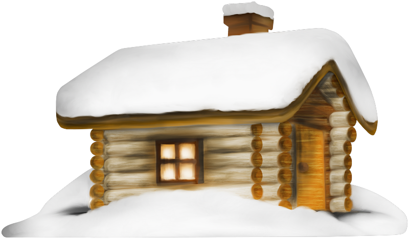 winter house transparent png