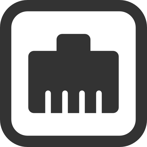 Wired Network Icon image #1891
