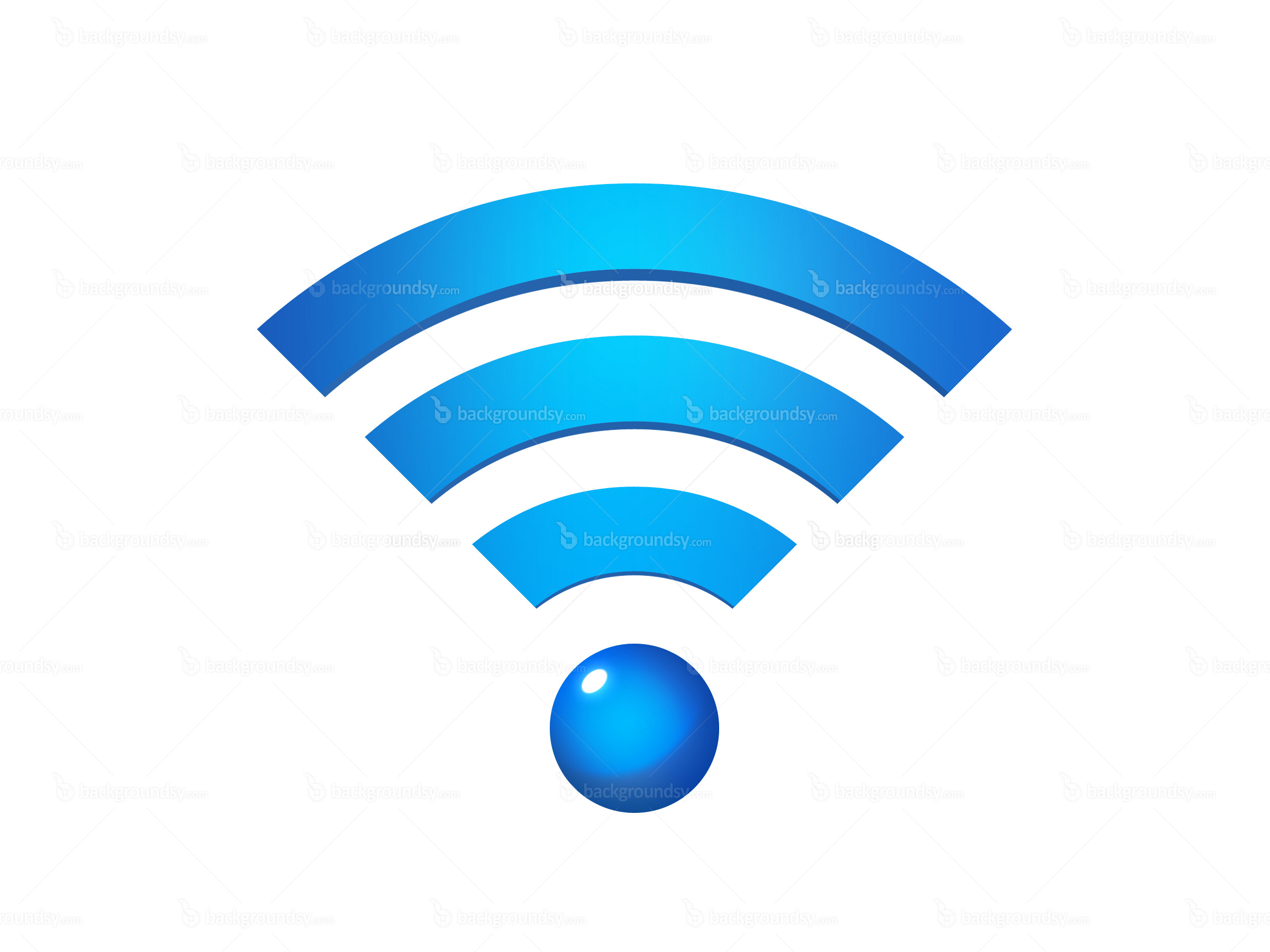 Wireless Network Icon Free image #1923