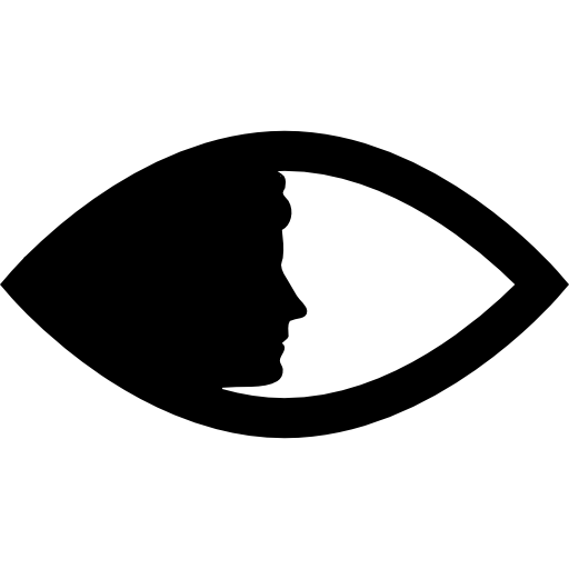 Women, Face, Eye Side Icon Png image #10856