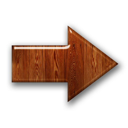 Free Icons Png Wood Right Arrow Sign