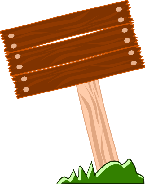 Wood Sign Board Image Png image #5731