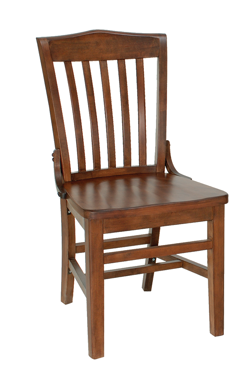 Wooden Chair PNG Transparent Image