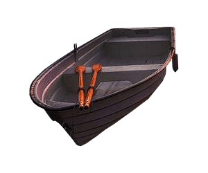 Wooden Rowing Boat Transparent Background image #41385