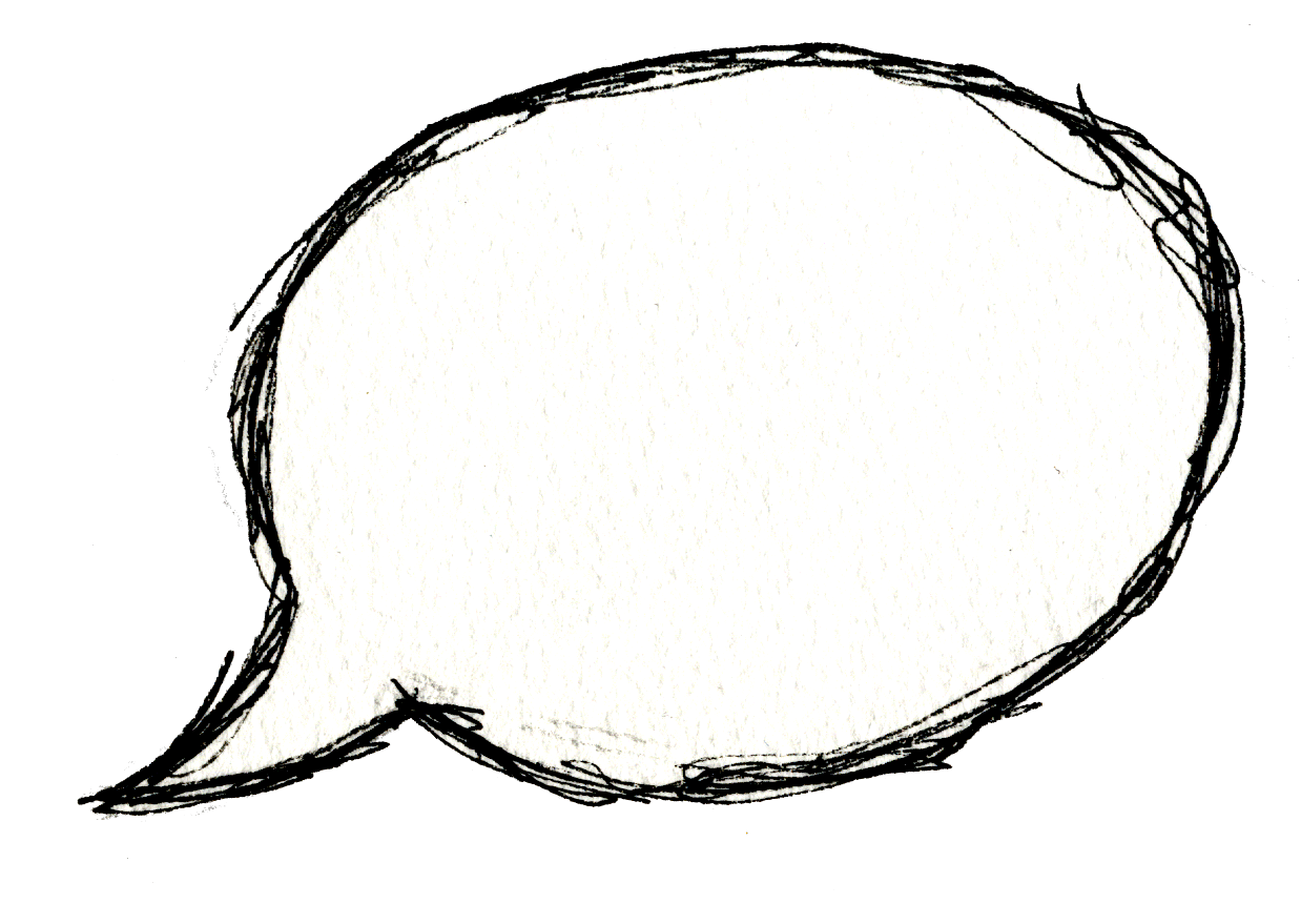Word Bubble Png image #11426