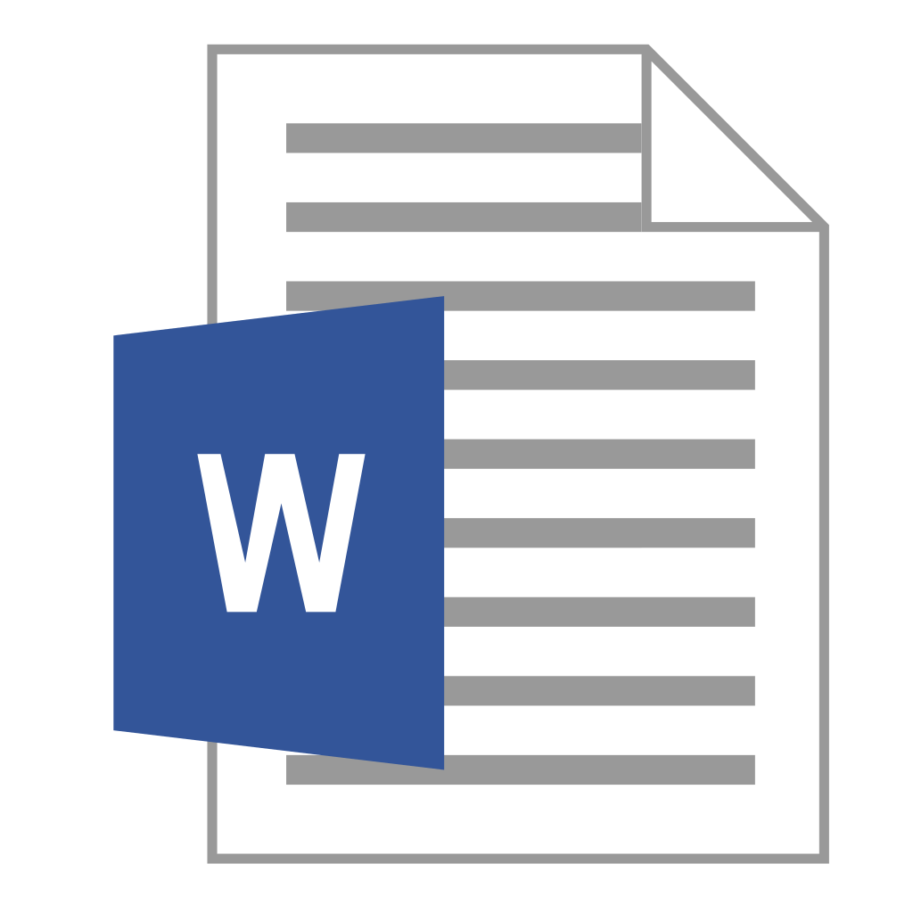 Word File Icon image #4001