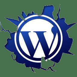wordpress 3d logo png
