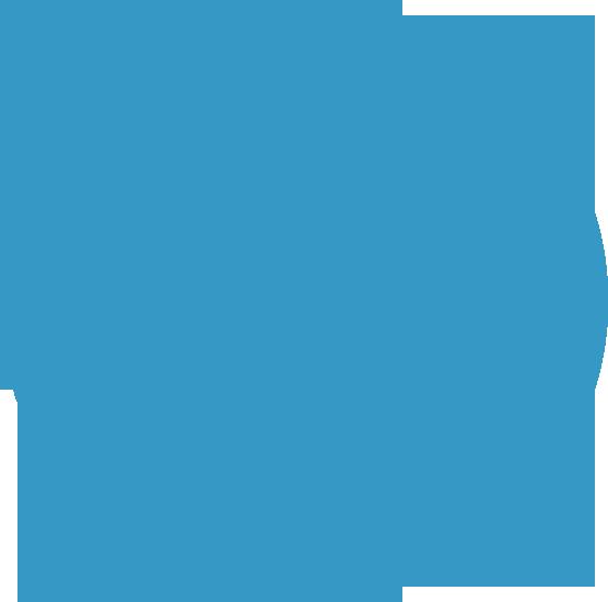 Wordpress blue transparent picture
