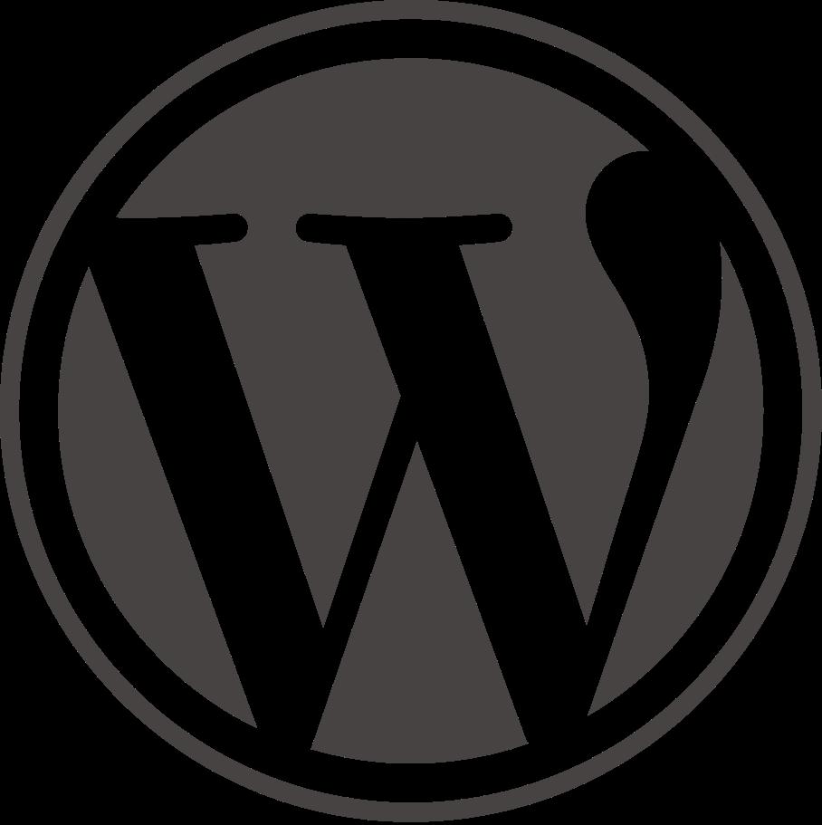 wordpress icon website web logos