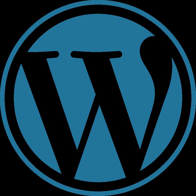wordpress transparent png logo