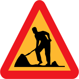 Work, Man, Workman, Roadsign Icon image #38526