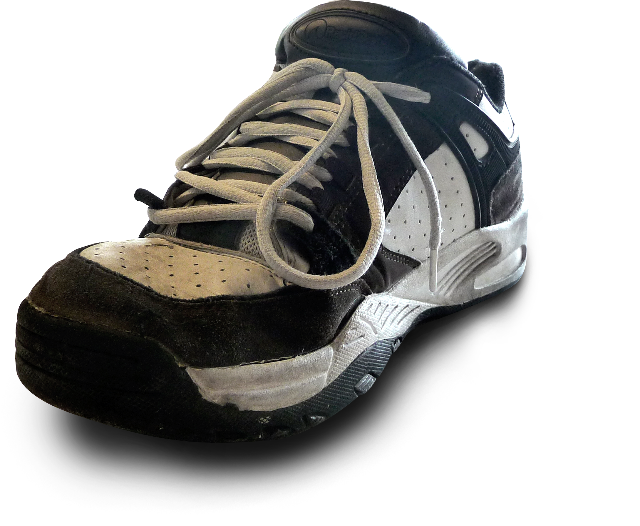 worn shoe png