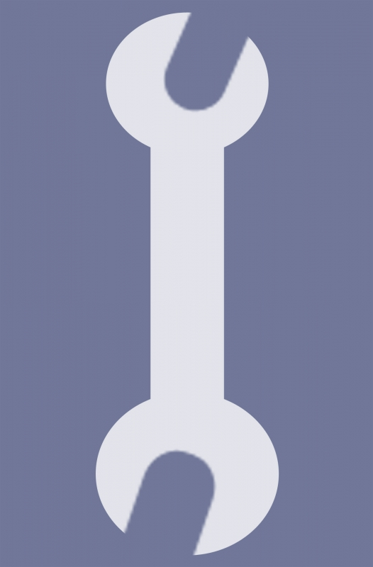 Wrench Vector Icon image #25563