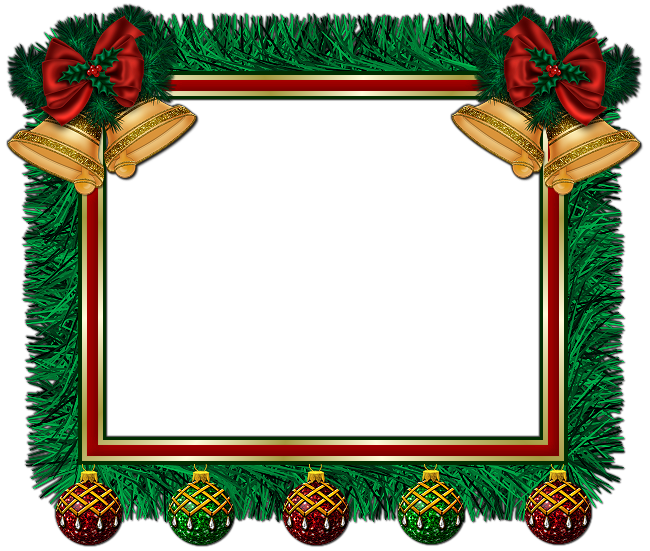 Xmas Frame Clip Art #30325 - Free Icons and PNG Backgrounds