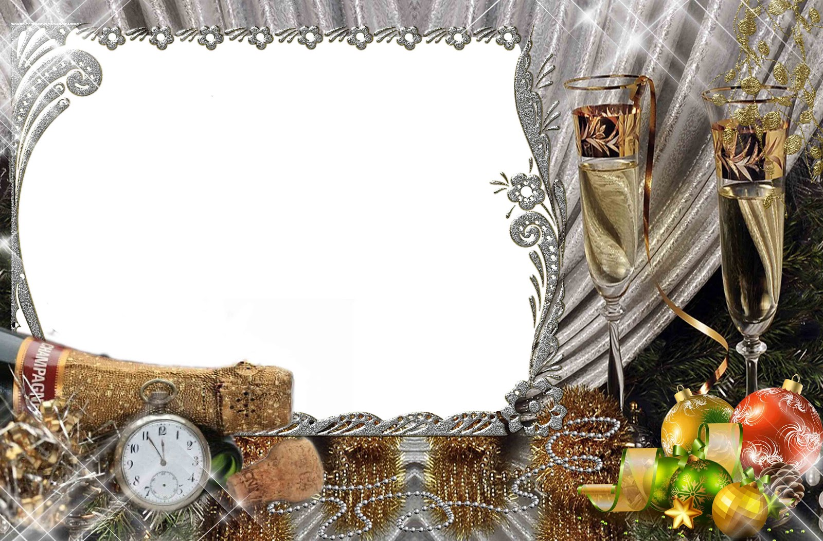 Background Transparent Xmas Frame image #30327