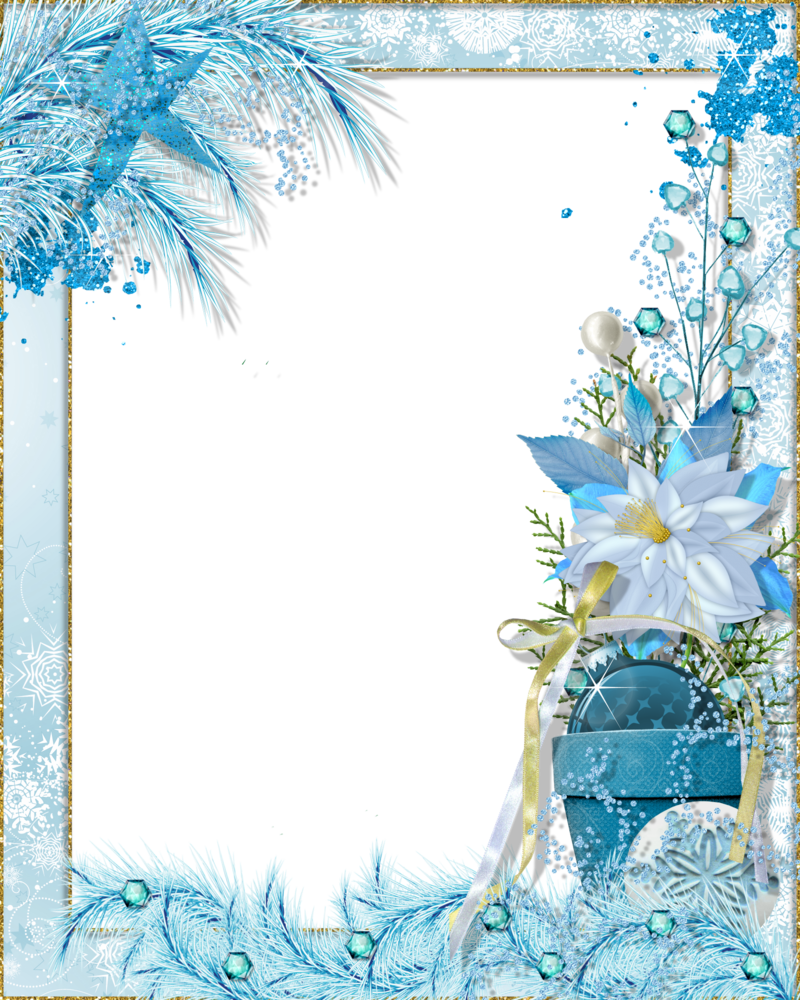 Xmas Frame Png Available In Different Size image #30330