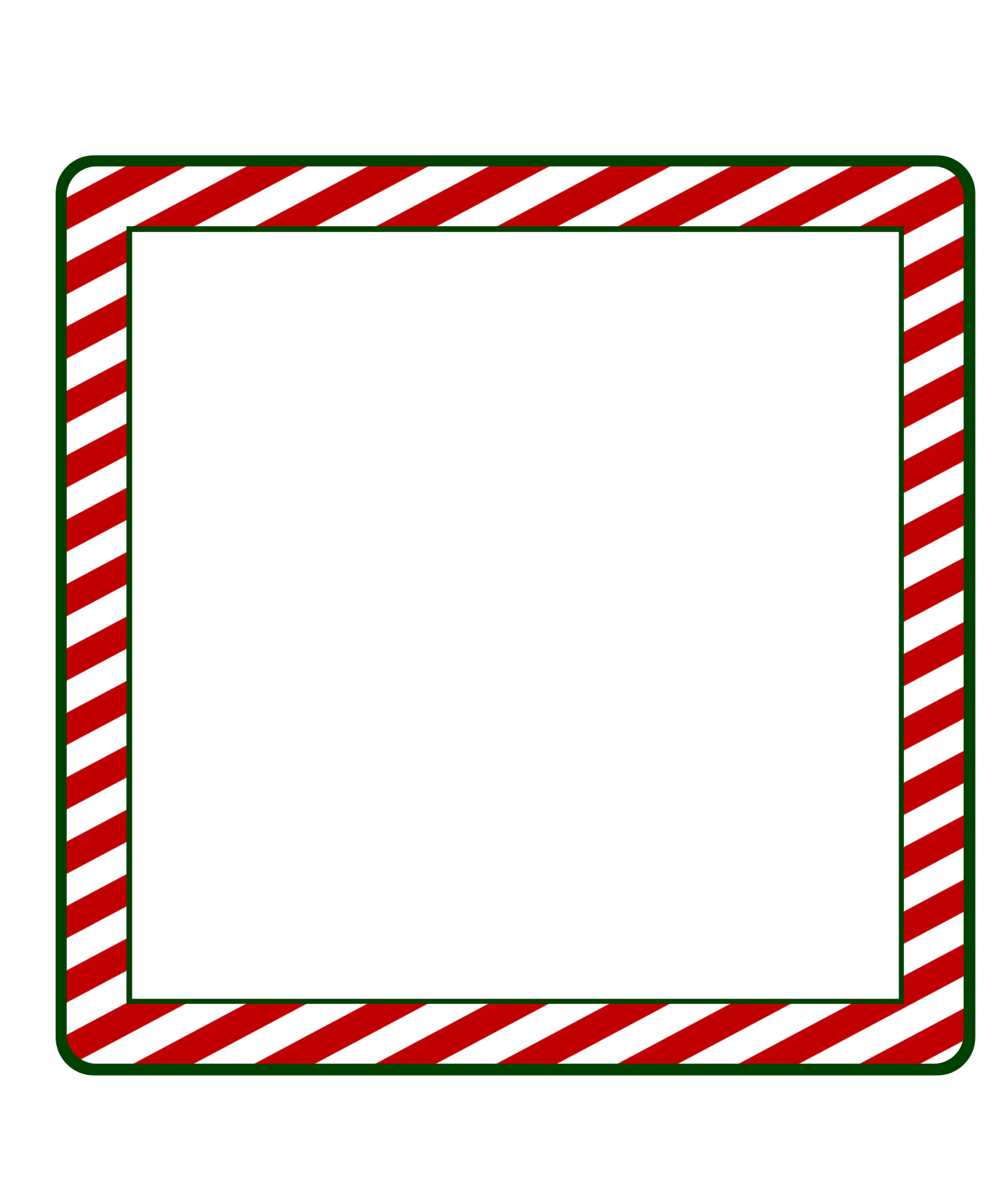 Xmas Frame In Png