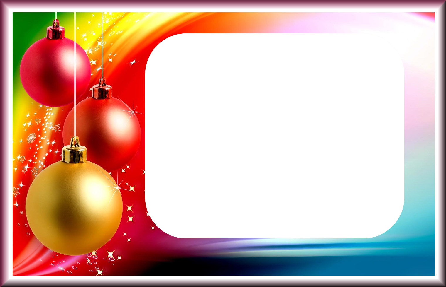 Download Png Xmas Frame Clipart
