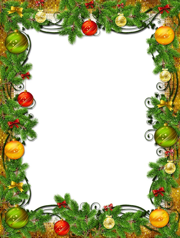 Use These Xmas Frame Vector Clipart image #30342