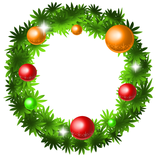 Xmas Wreath, Holiday Icon Png image #9816