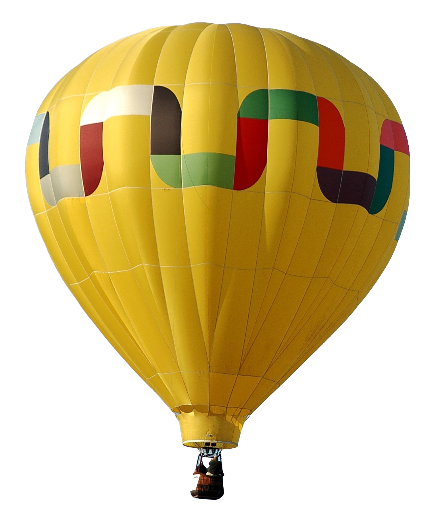 Yellow Air Balloon High-quality Png image #46759