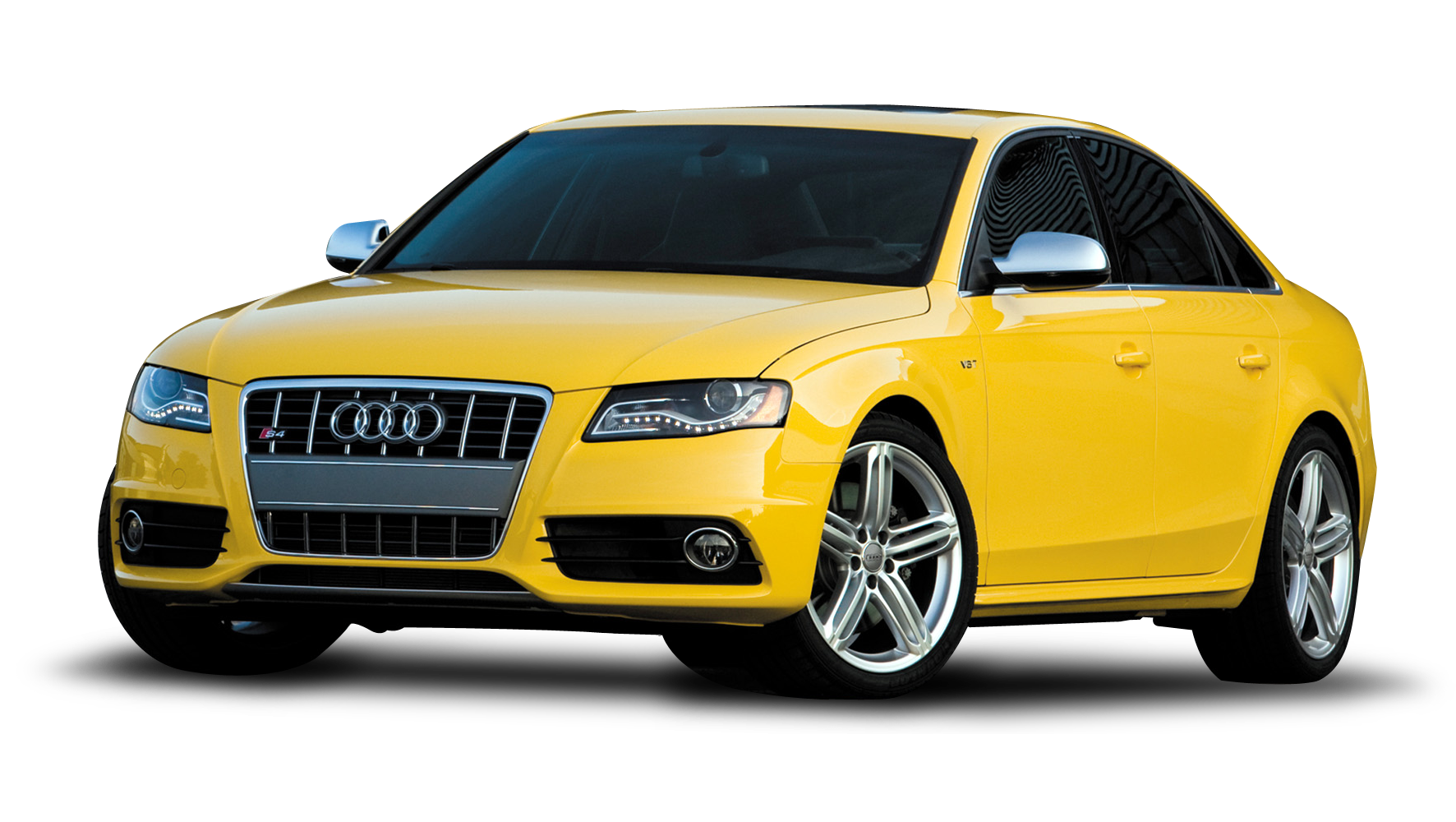 Yellow Audi Car PNG Hd