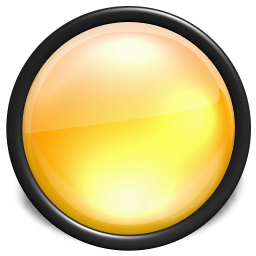 Yellow Button Icon Png image #21054