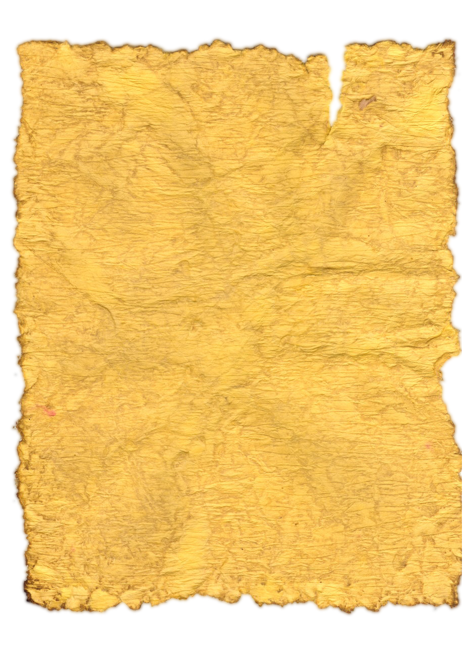 Yellow Crumpled Paper Pictures image #48291