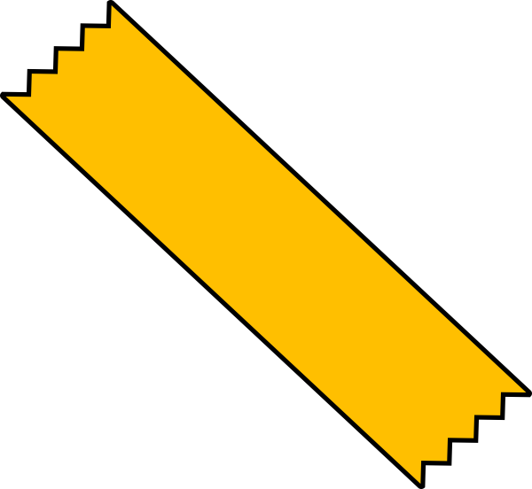 Yellow Duct Tape Png image #44321