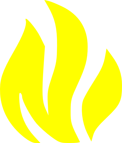 Pictures Free Yellow Fire Clipart