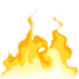 Png Download Clipart Yellow Fire image #15110