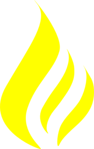 High Resolution Yellow Fire Png Icon image #15112