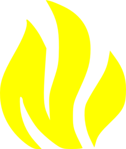 High Resolution Yellow Fire Png Clipart image #15106