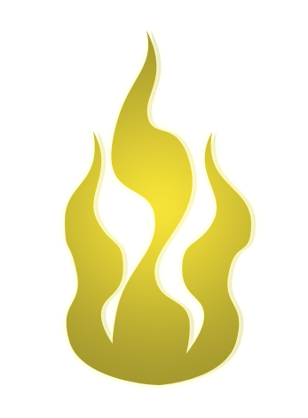 Clipart Yellow Fire PNG
